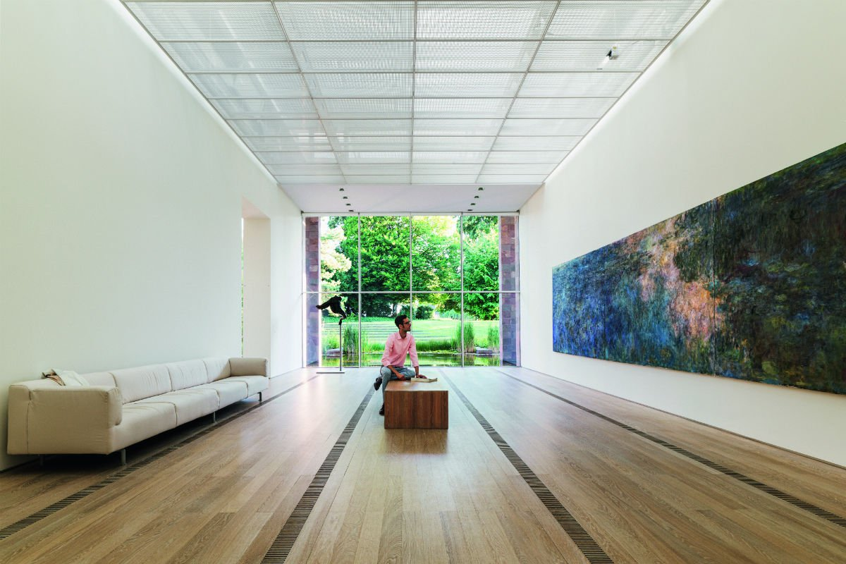 Fondation Beyeler, Basel, Switzerland Interior