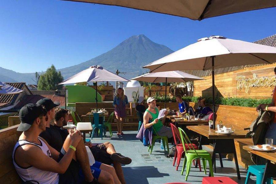Tropicana hostel Antigua Guatemala