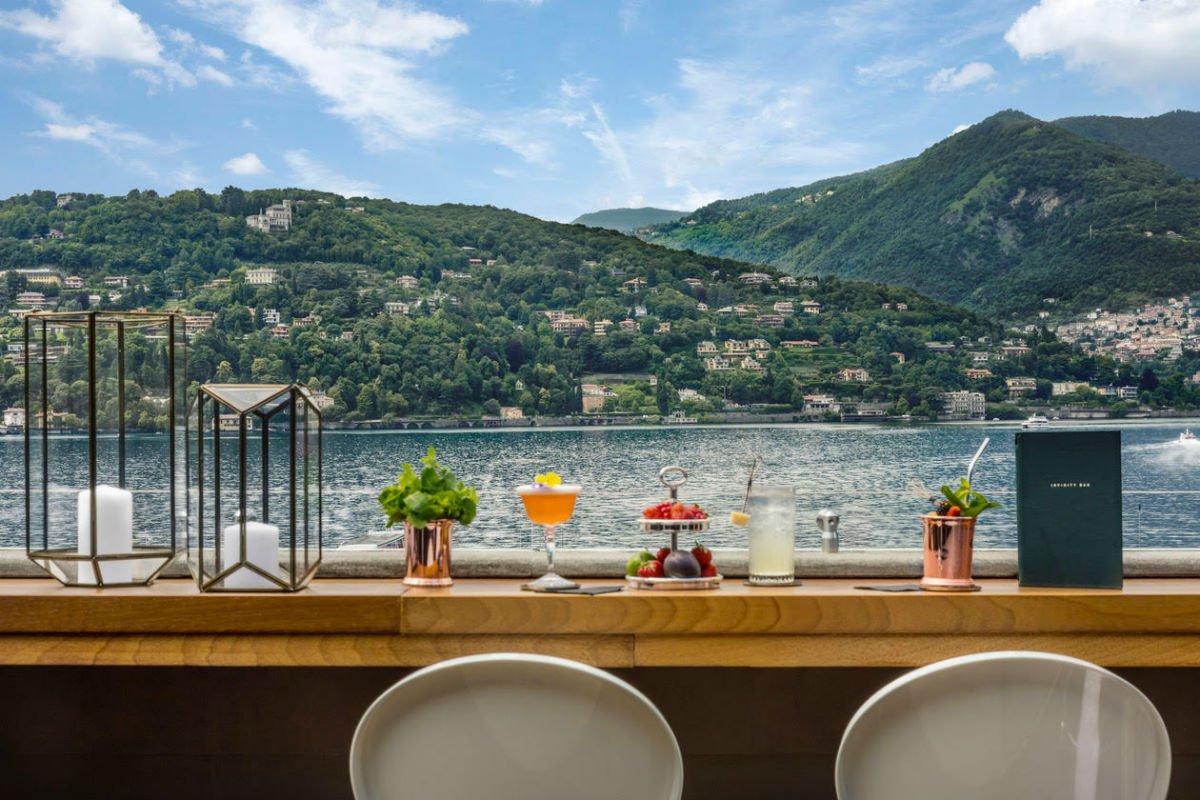 Vista Palazzo Lago di Como, Como Italy
