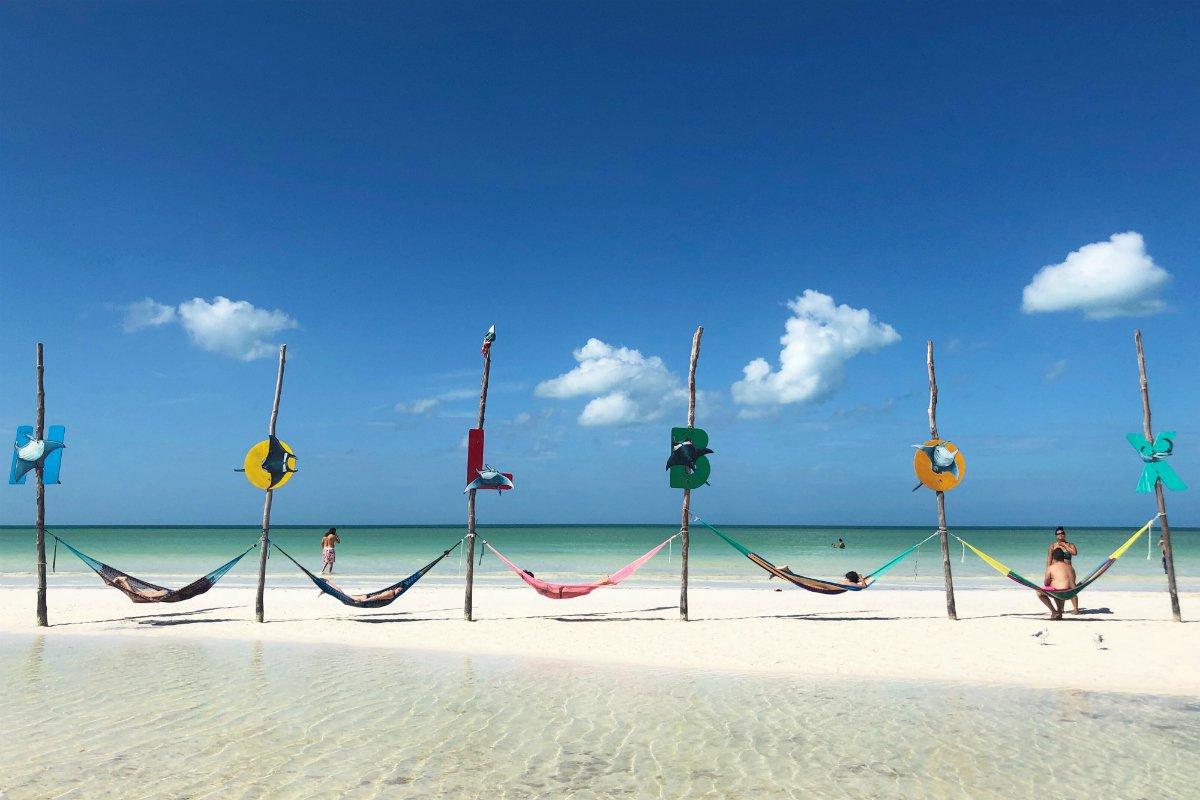 Isla Holbox beach
