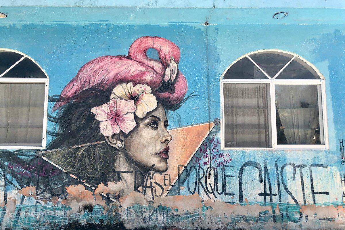 Punta Caliza grafitti