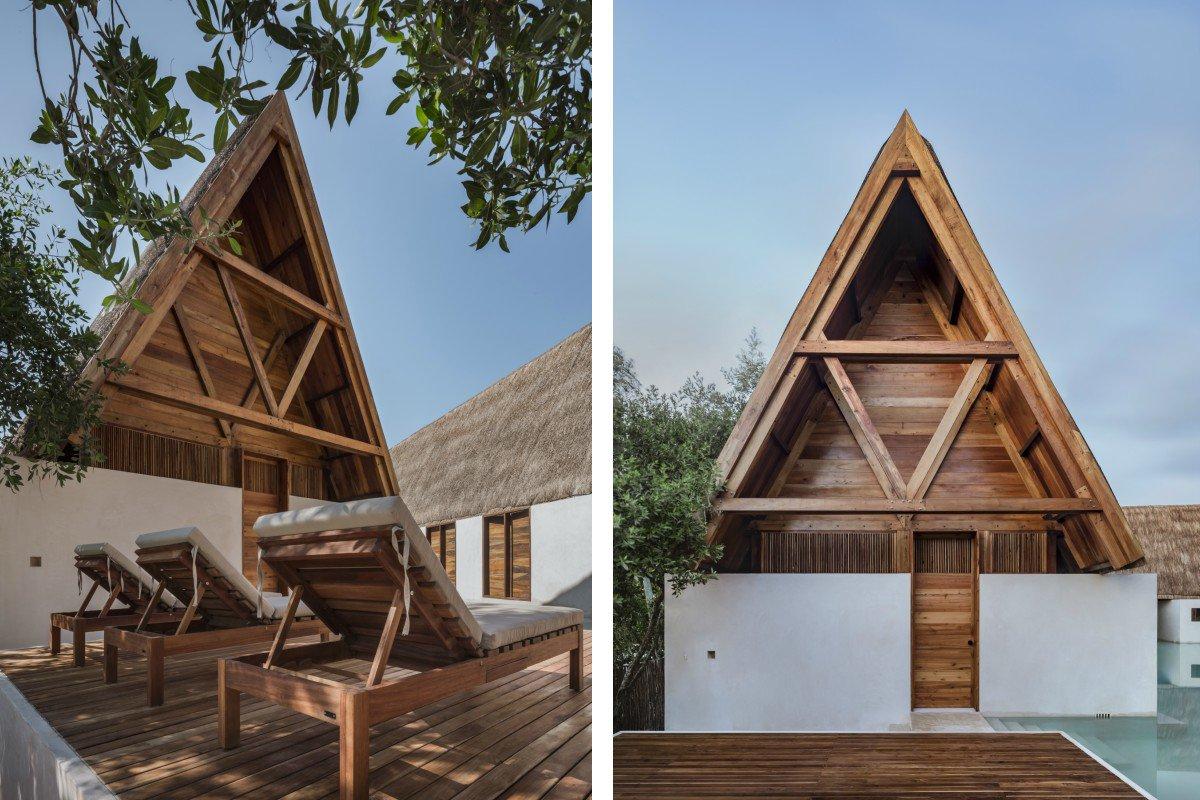 Punta Caliza exterior cedar architecture