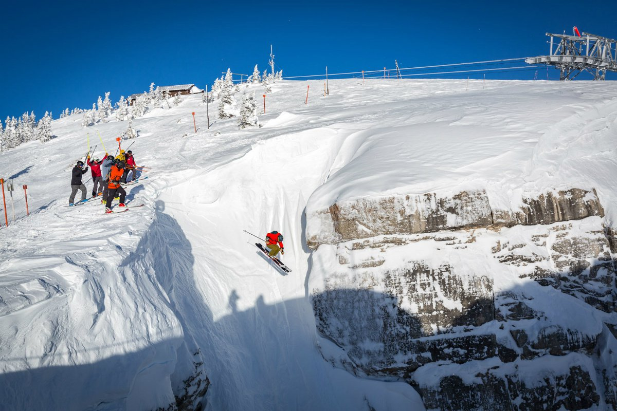 Corbet's Couloir in Jackson Hole