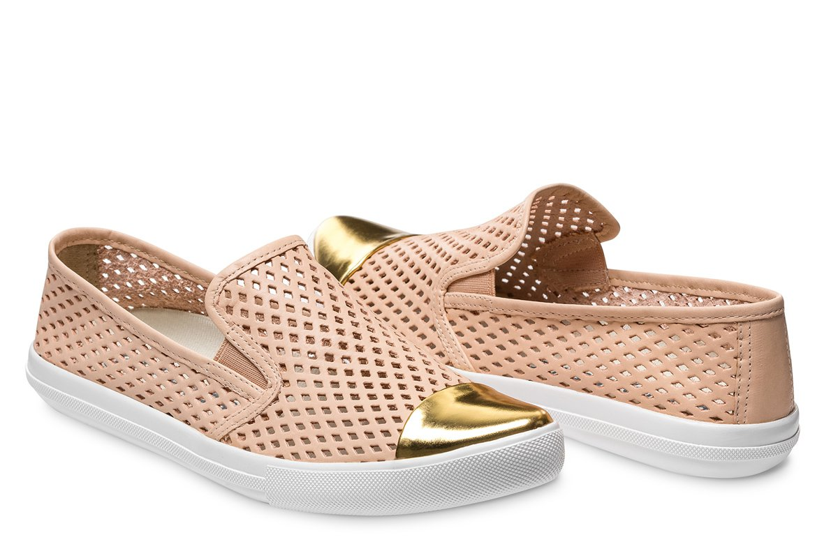 Jibs Gold-Toe Sneakers