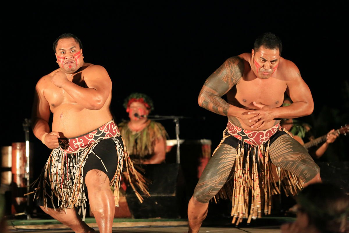 Ka Mate haka performance.
