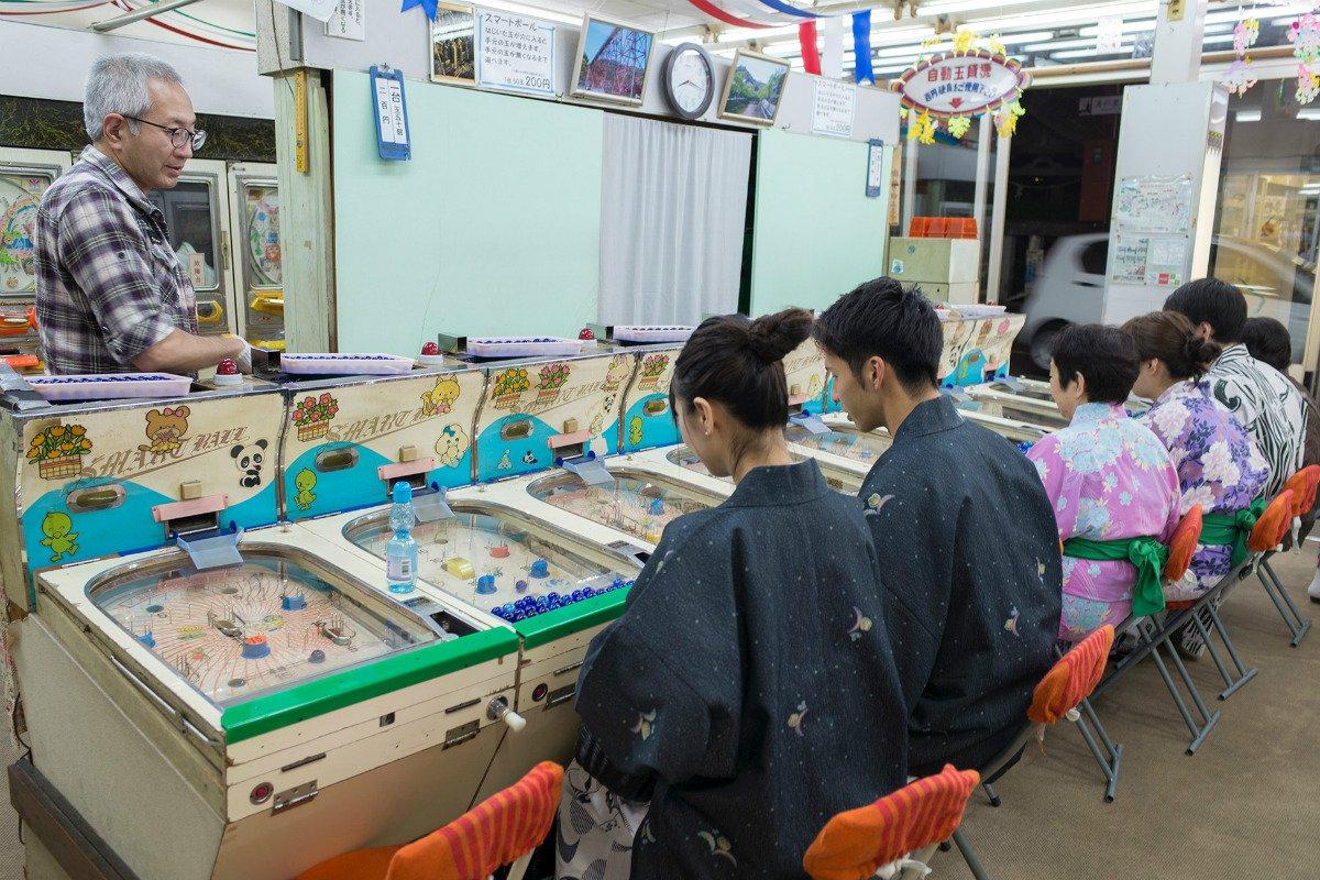 Kinosaki town arcade