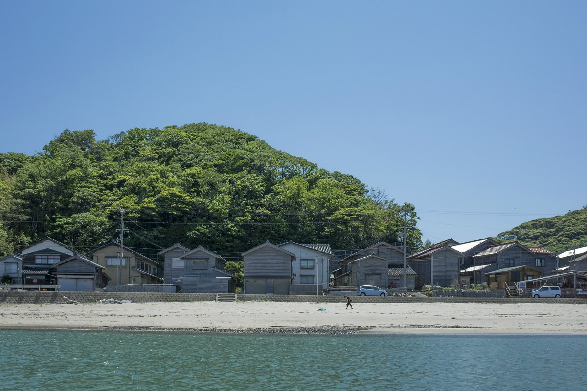 Takeno Beach houses