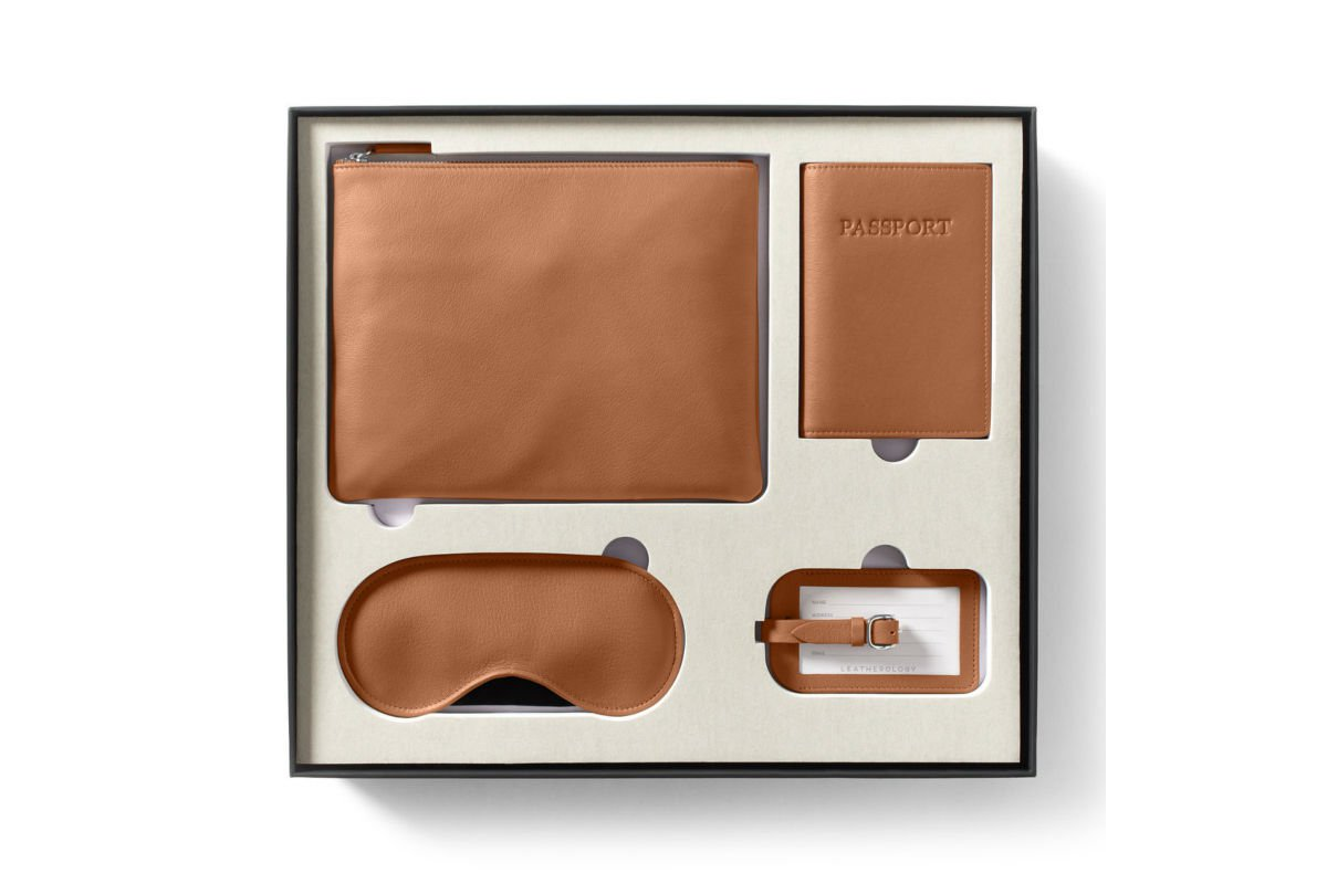 Leatherology Jetsetter Gift Set