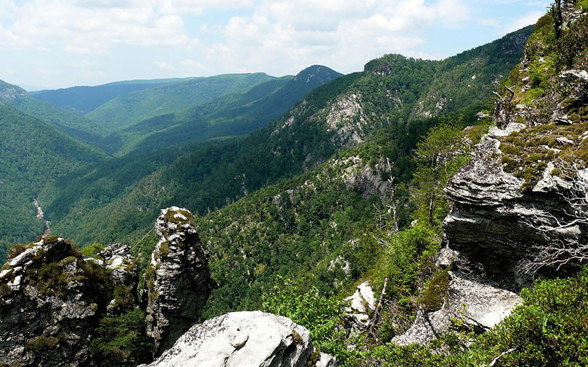 Linville Gorge.