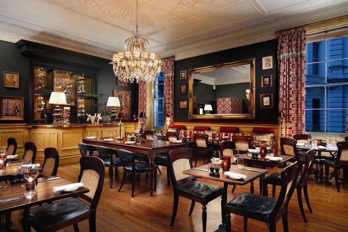 The Gore London 190 Queen's Gate restaurant interior
