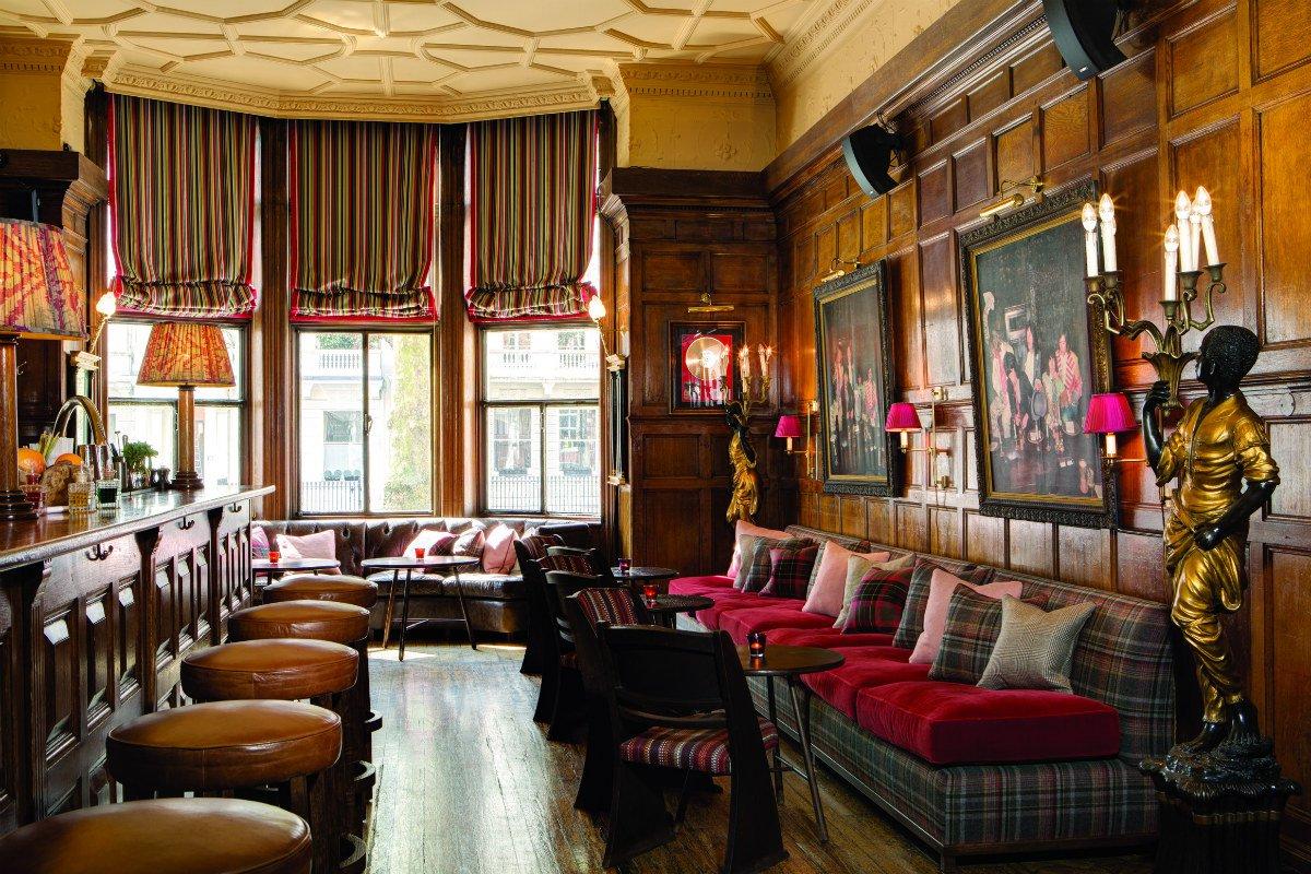 The Gore London bar 190 interior