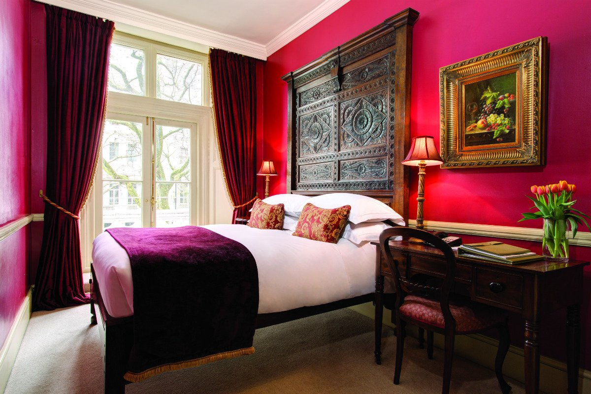 The Gore London deluxe room interior