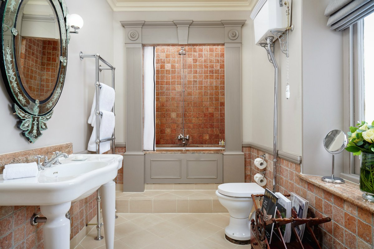 The Gore London suite bathroom