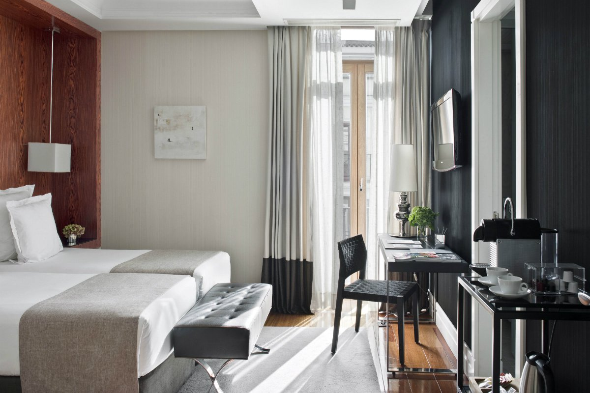 A look inside a suite at Hotel Unico Madrid