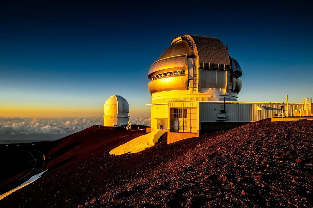 Mauna Kea Observatory.