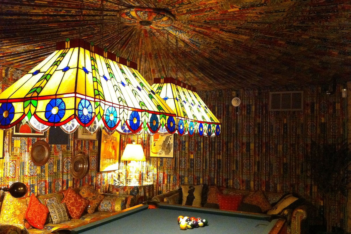 Pool room at Graceland.