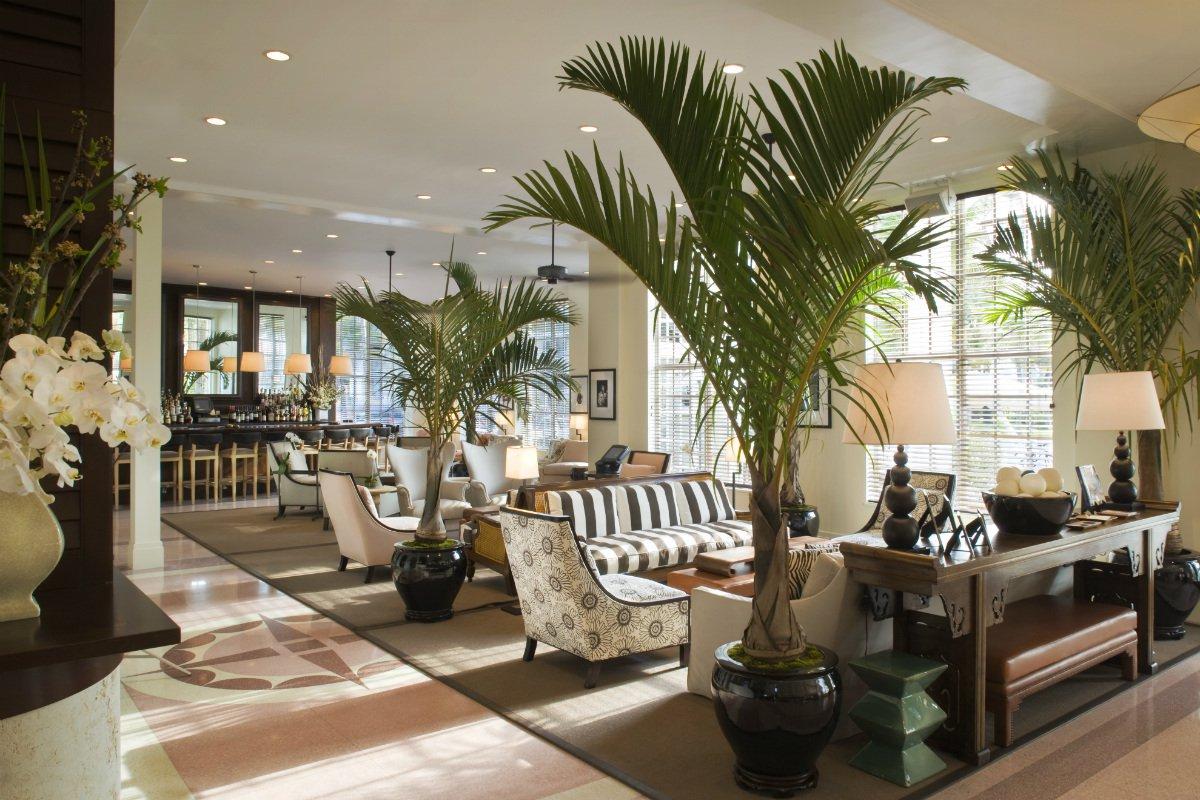 The Betsy South Beach lobby