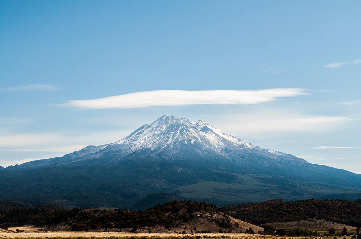 Mount Shasta Peak.