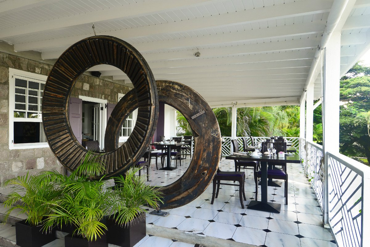 Montpelier Plantation & Beach outdoor terrace