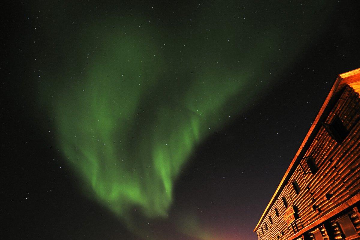 Northern lights, Churchill, CA