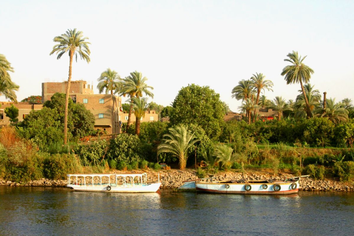 View of the riverbank from Oberoi Philae.