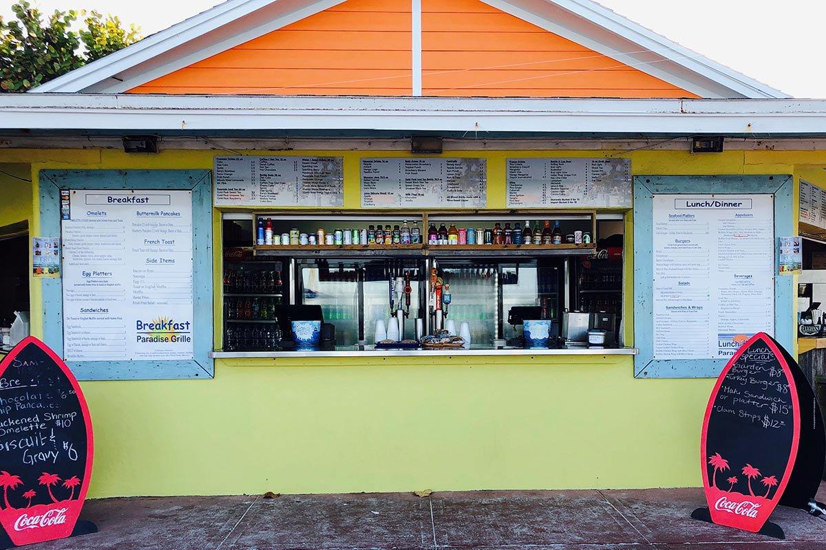 Paradise Grille. St. Pete, Florida.