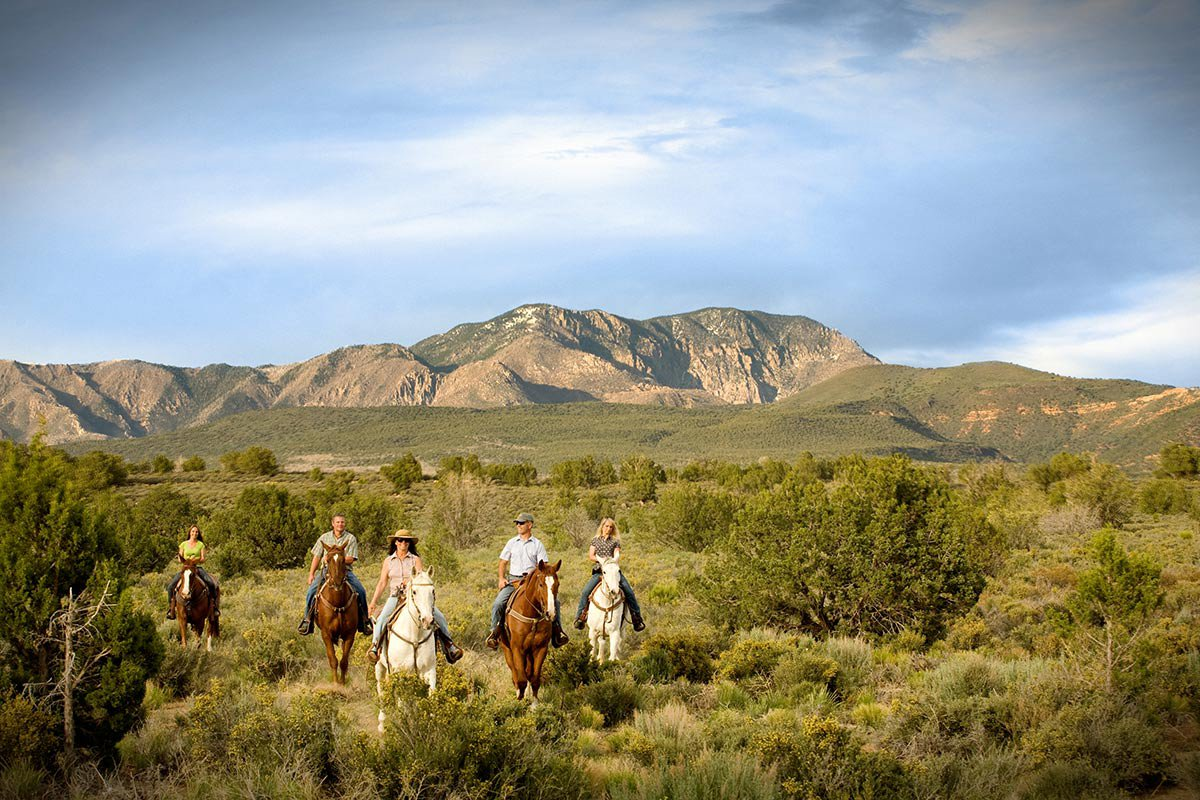 Red Mountain Resort Horseback Riding