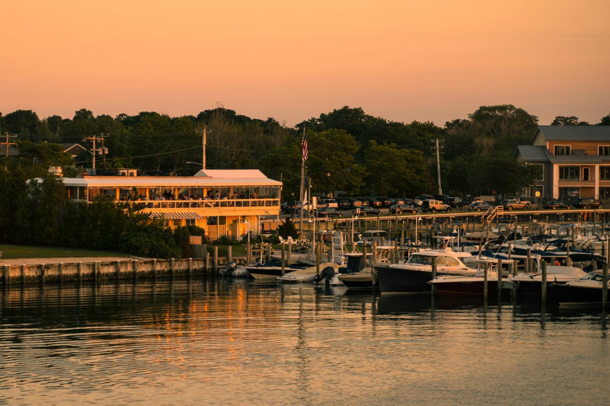 The Beacon restaurant Sag Harbor
