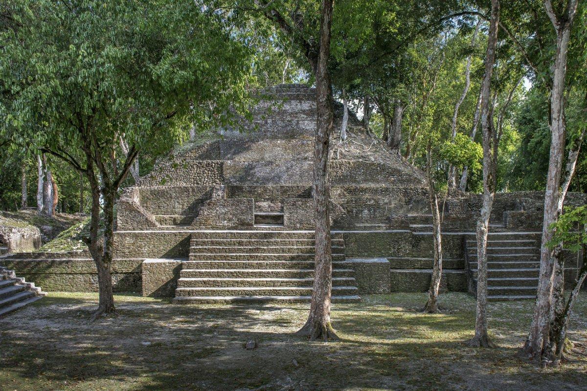 Cahal Pech Maya ruins outside San Ignacio