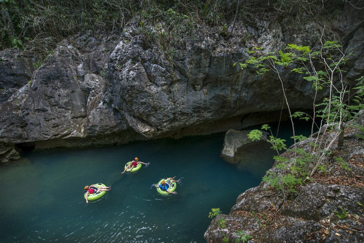 Jaguar paw cave tubing outside San Ignacio