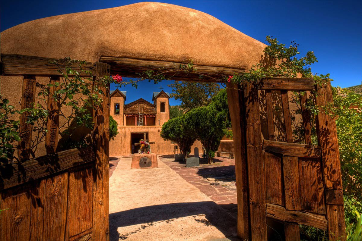 El Santuario de Chimayo.