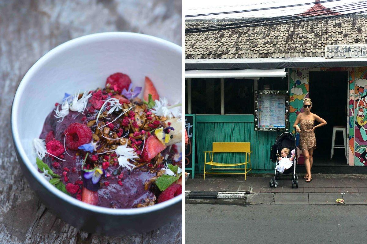 Sisterfields, Bali, and Sea Circus, Bali.