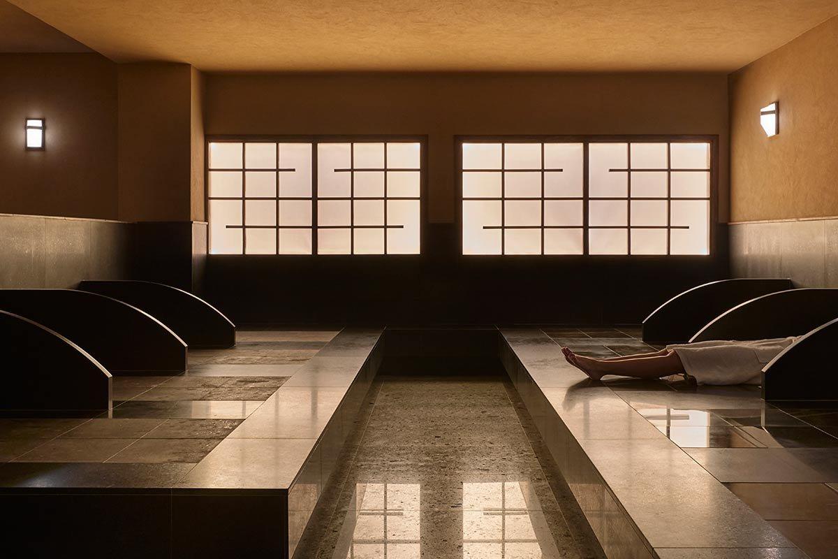 Ganbanyoku Bedrock Sauna