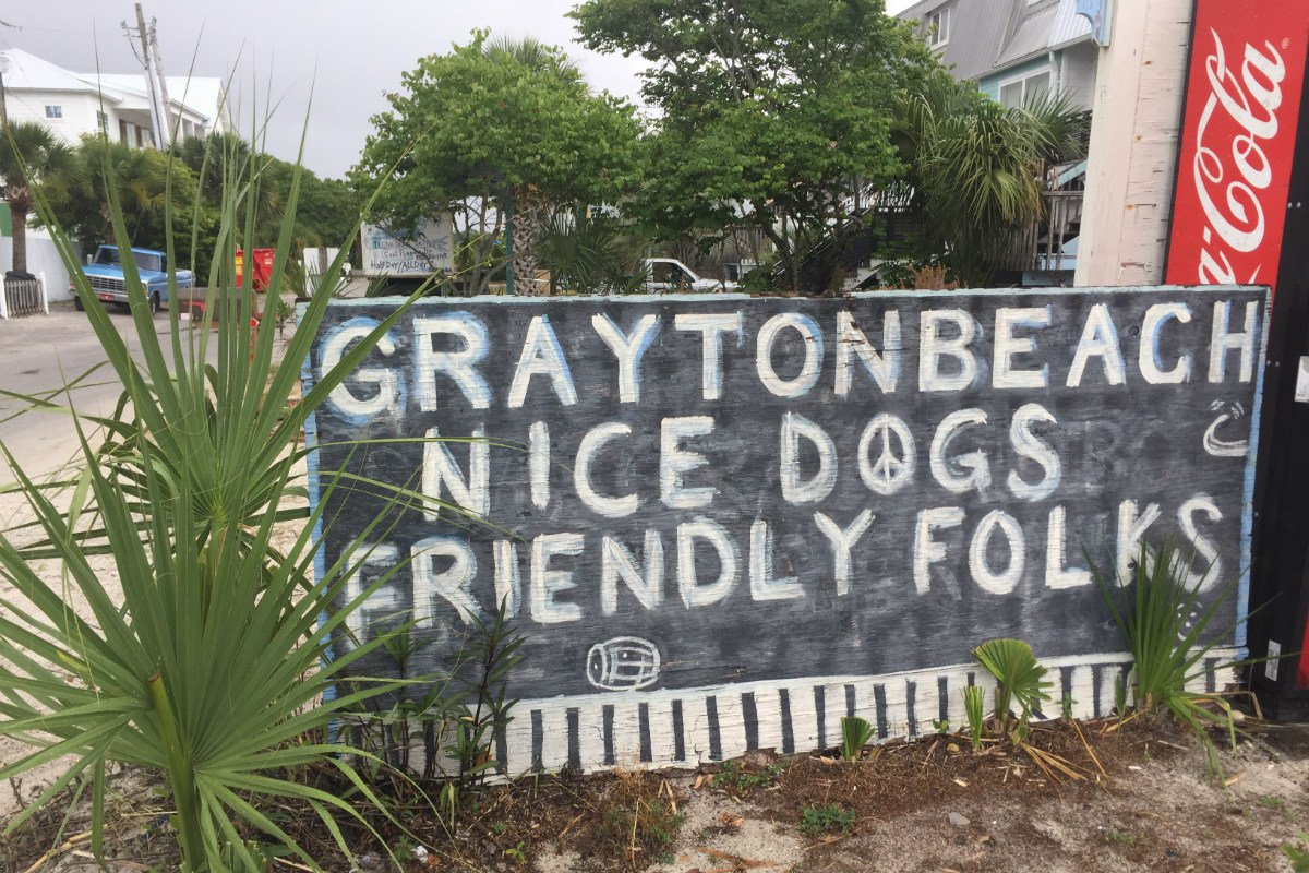 Grayton Beach sign