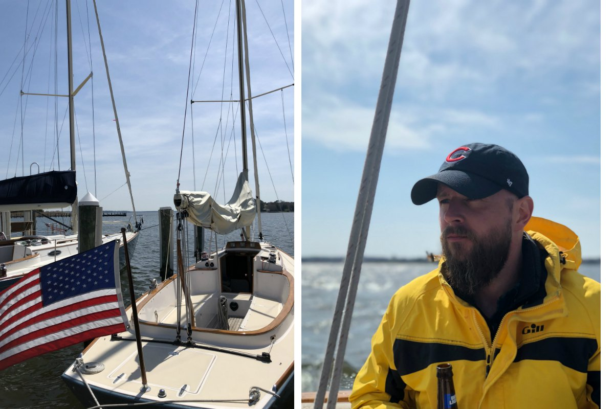 Sailing on the Chesapeake Bay