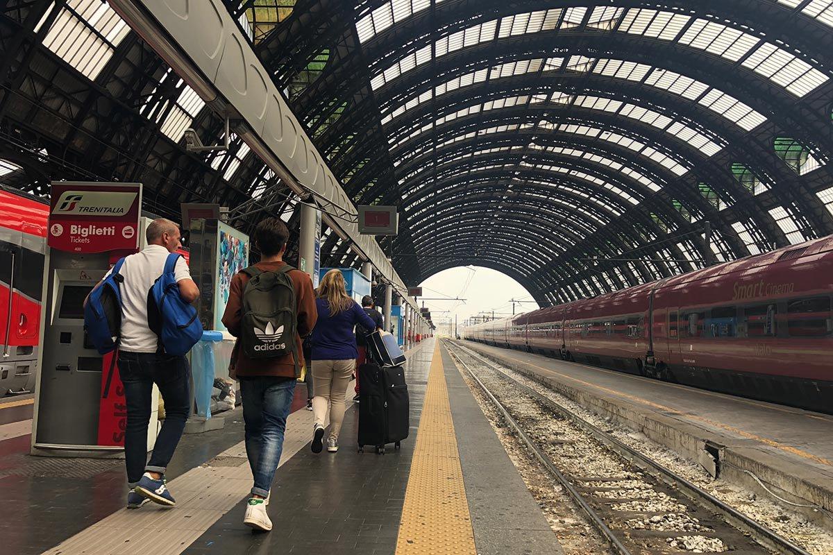 Stazione Centrale, Milan.