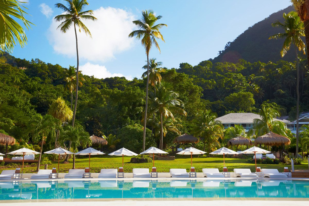 Sugar Beach, Saint Lucia