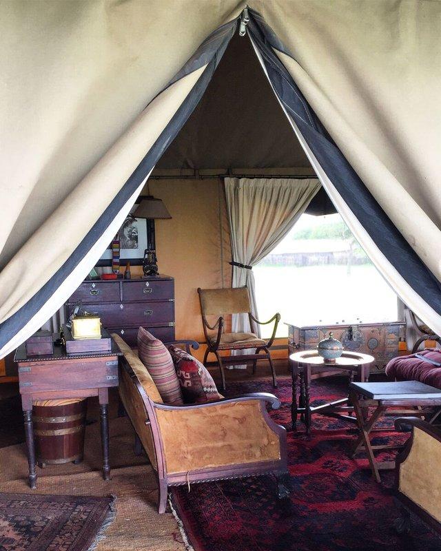 Singita Sabora Tented Camp, Grumeti, Tanzania.