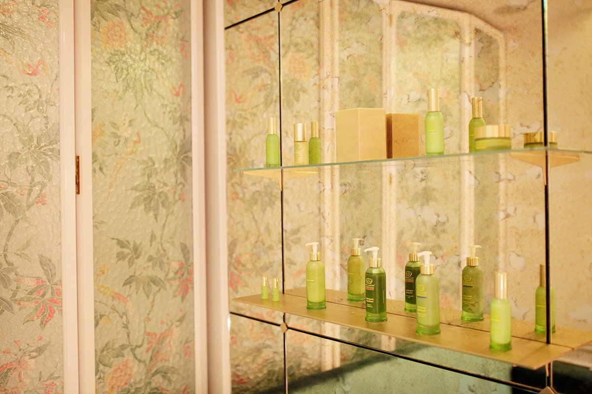Seeing Green In Paris At The Chic New Tata Harper Spa Fathom