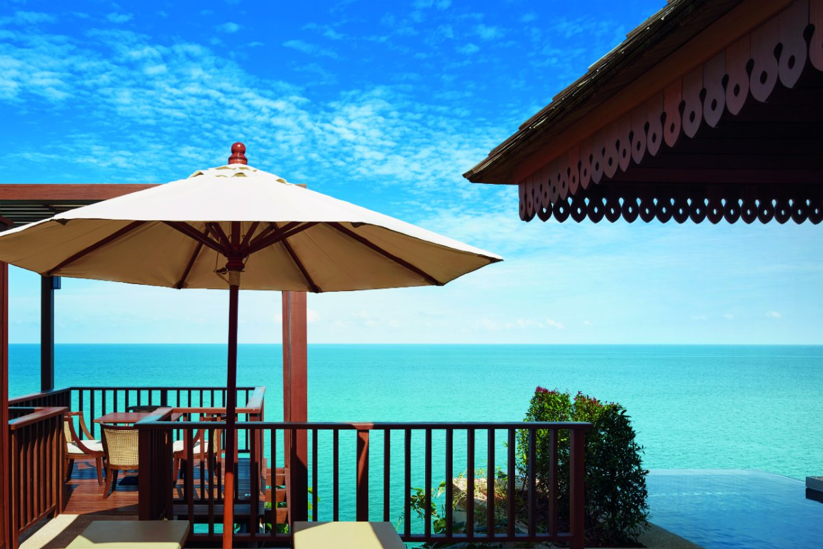 Ultimate pool villa ocean view at The Ritz-Carlton Koh Samui