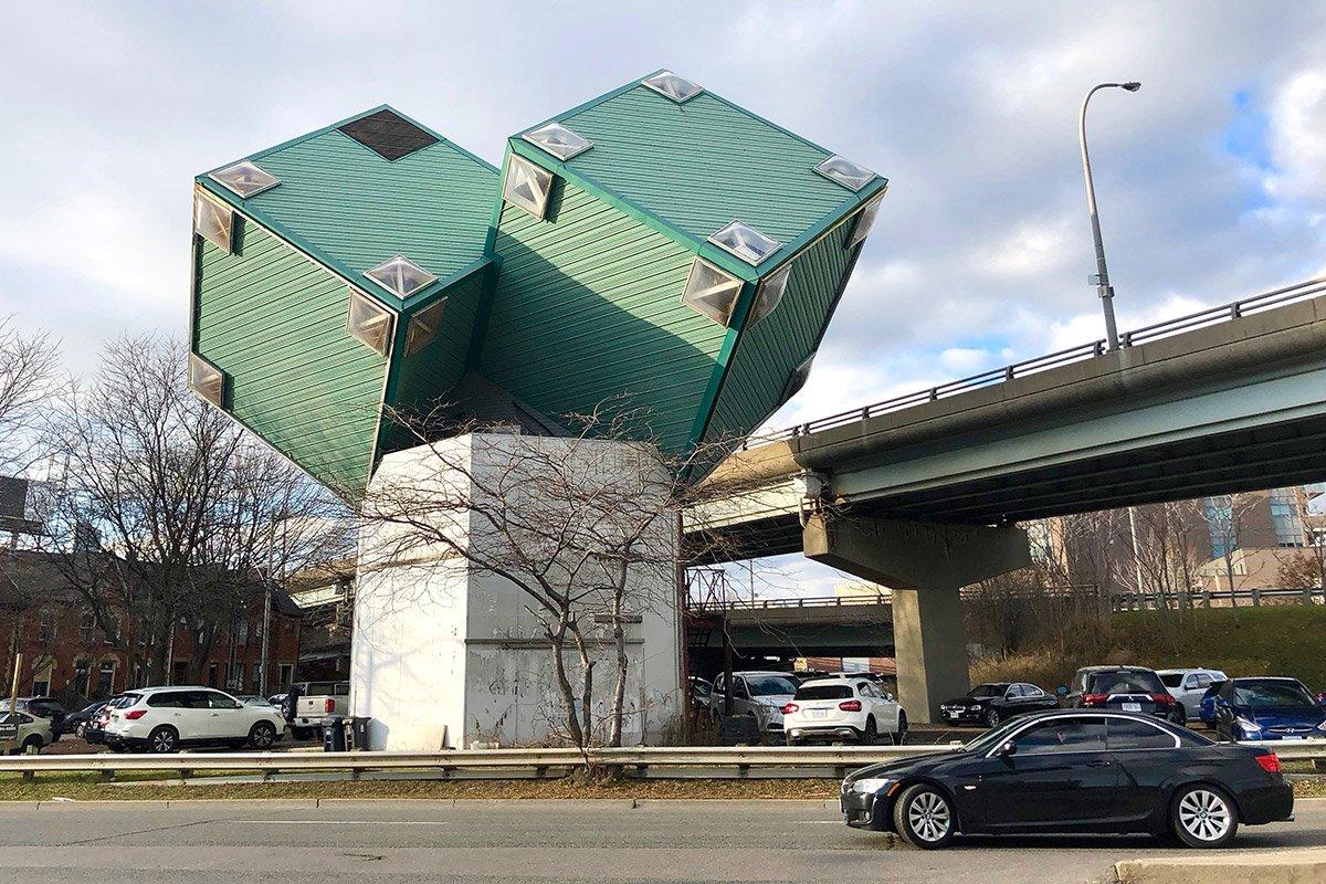Corktown Cubes in Toronto