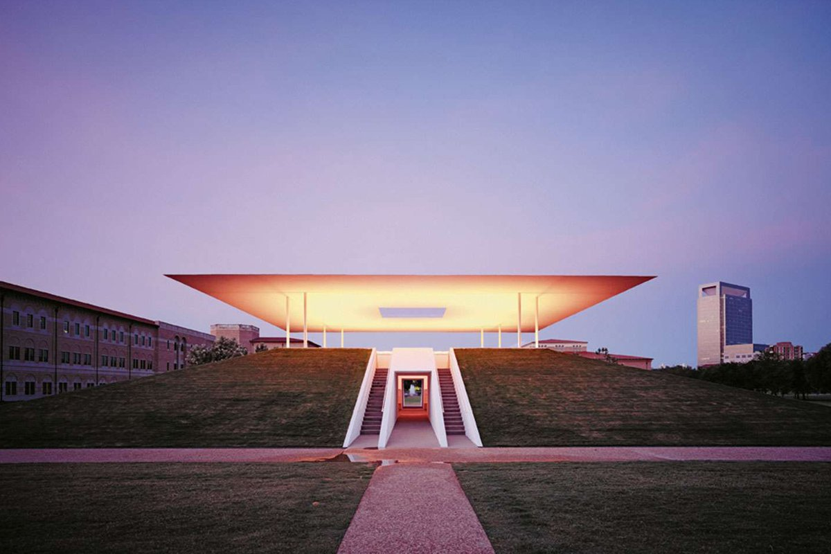 "James Turrell's ""Twilight Epiphany."""