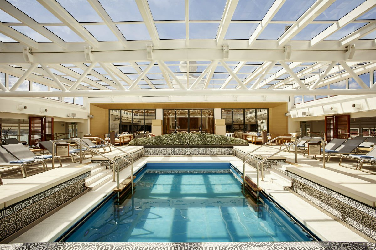 Viking Sky Cruise pool