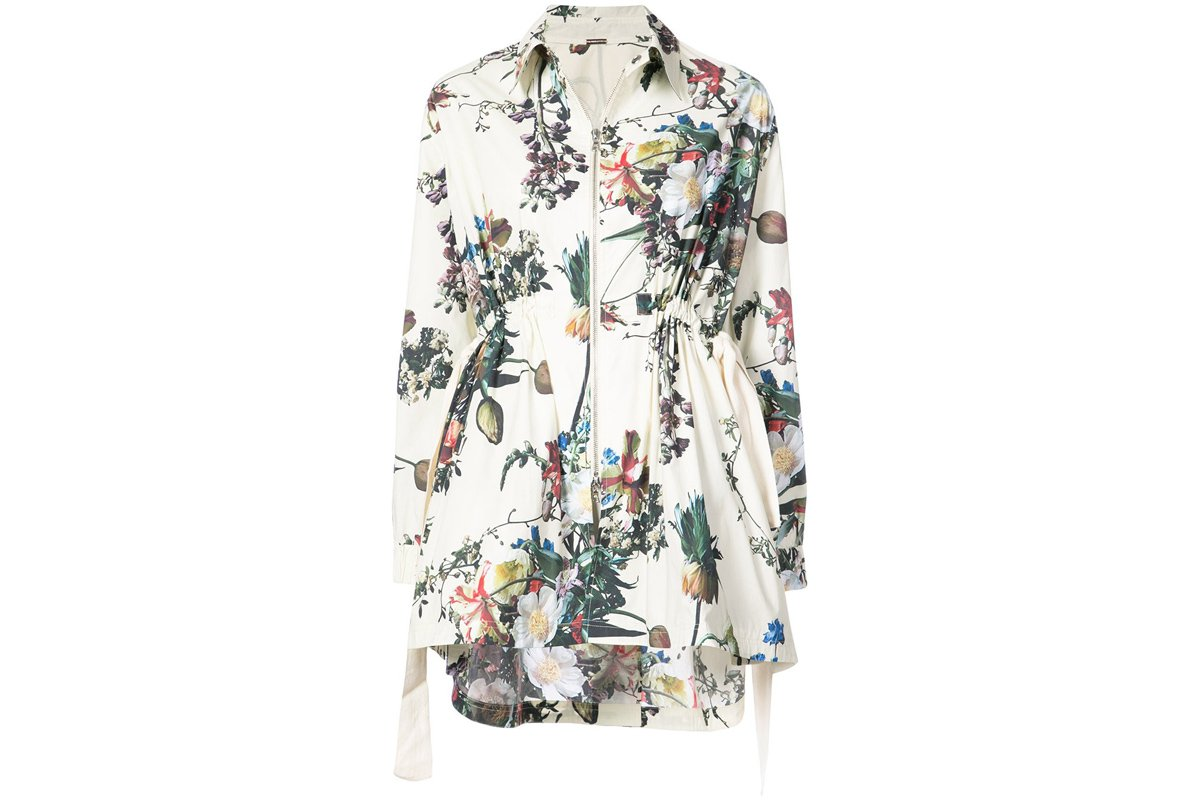 Adam Lippes Floral Jacket