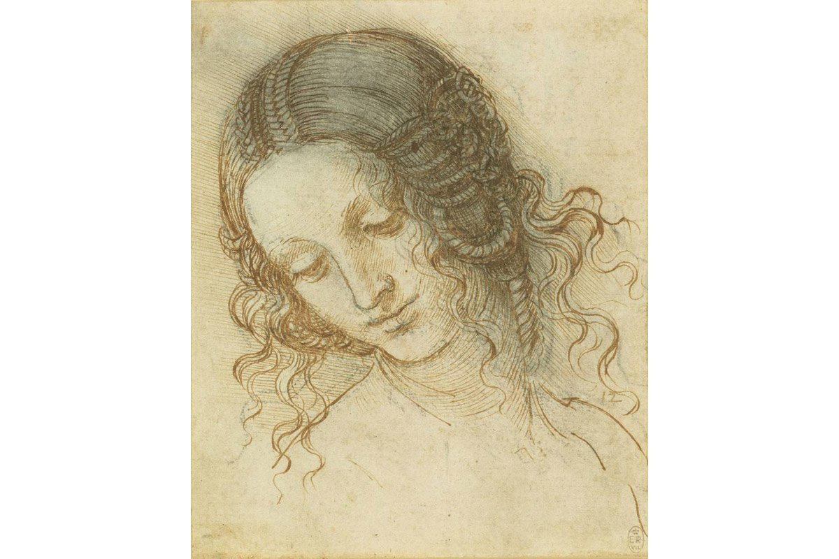 Leonardo da Vinci, The head of Leda
