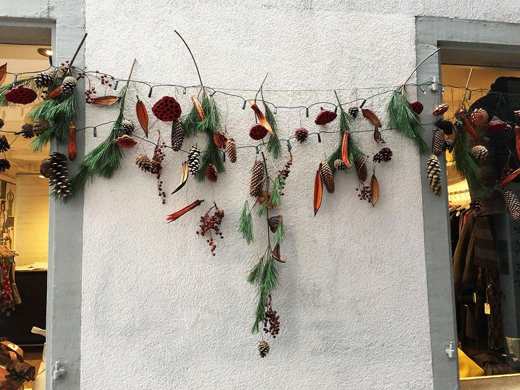Zurich winter decorations