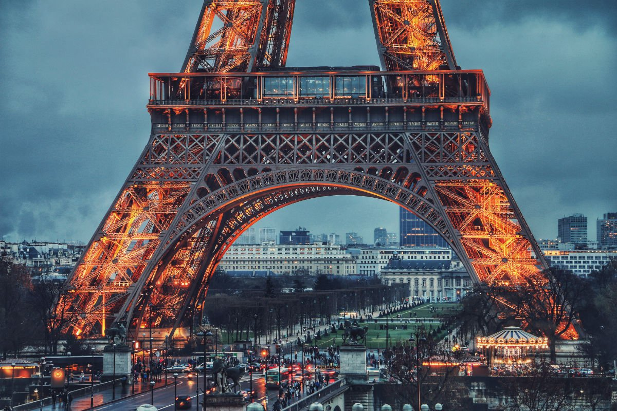 Eiffel Tower, Paris, France.