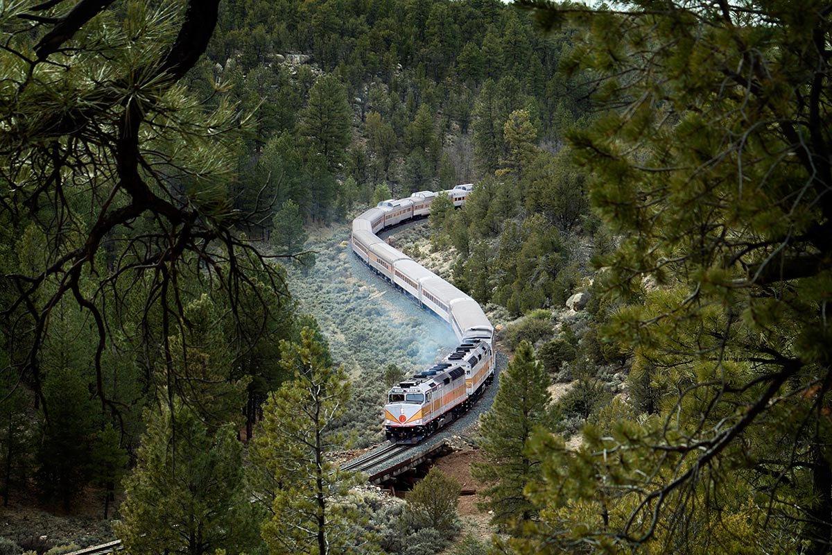 Grand Canyon Railway.
