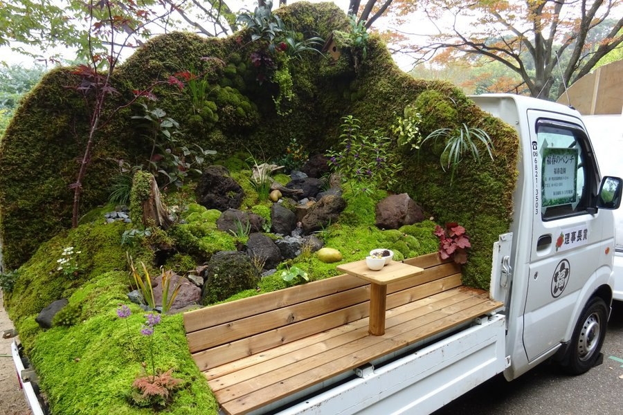 Japanese Flat Bed Gardens
