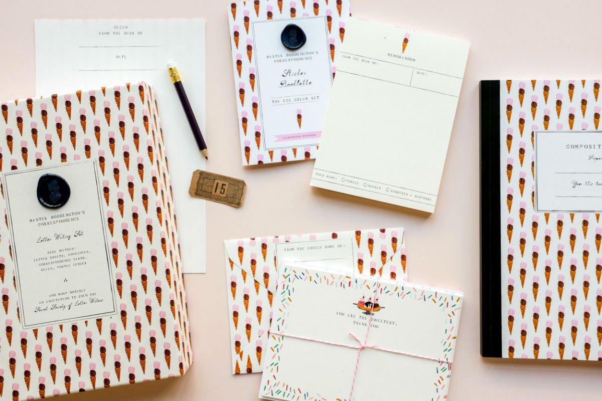 Master Boddington Correspondence Kits